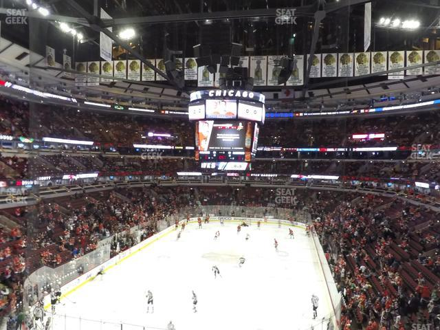 United Center Section 225 view
