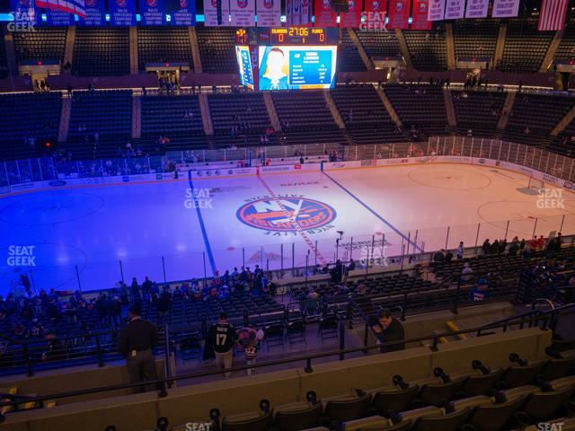 Nassau Veterans Memorial Coliseum Section 204 view