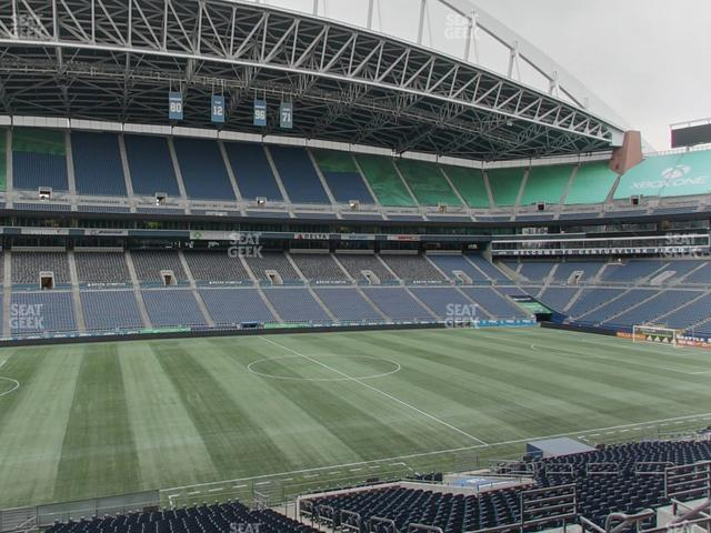 CenturyLink Field Section Club 237 view