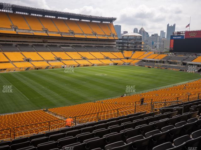 Heinz Field Section 230 view