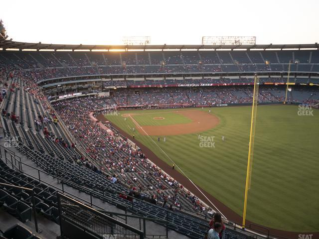 Angel Stadium of Anaheim Section 537 view