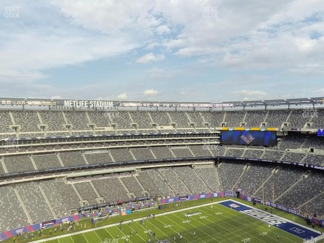 MetLife Stadium Section 342 view