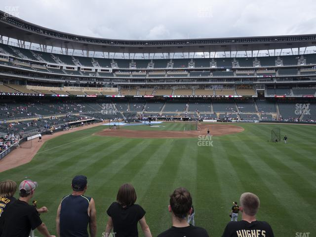 Target Field Section 136 view