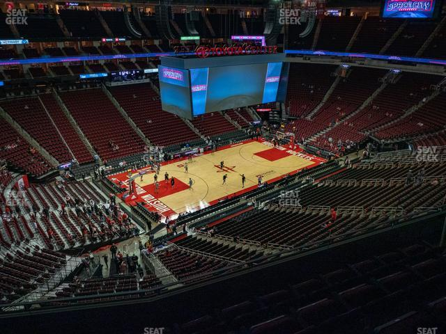 Toyota Center Section 413 view