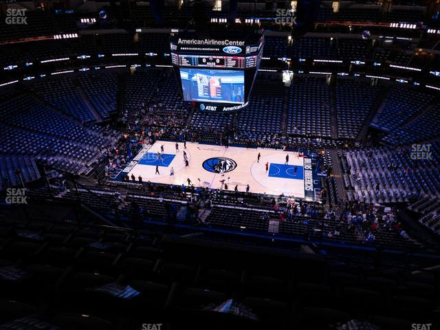 American Airlines Center Section 325 view