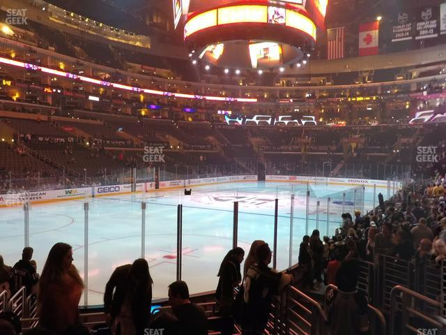 Staples Center Section 105 view