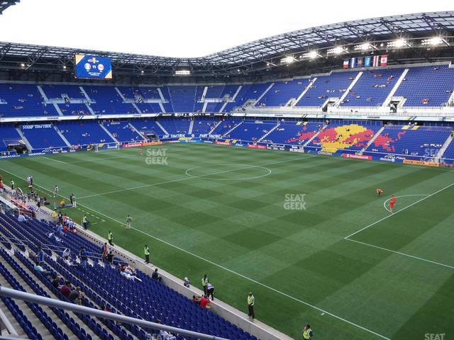 Red Bull Arena Section 206 view