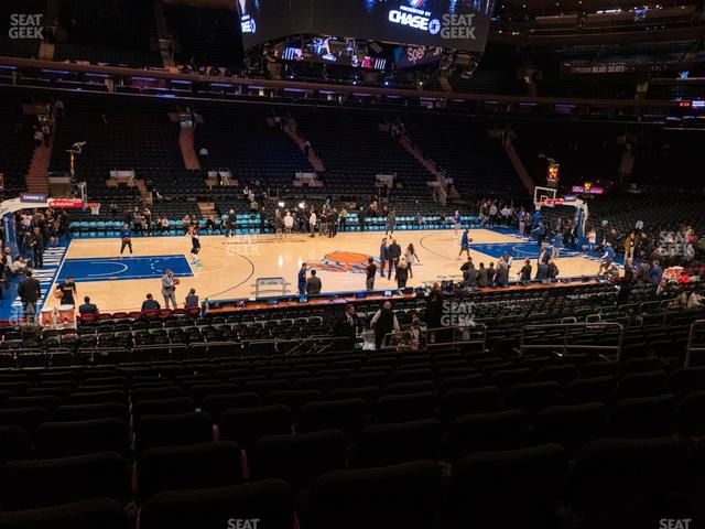 Madison Square Garden Section 106 view