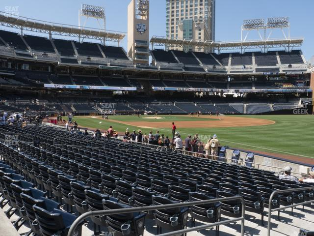 Petco Park Section 119 view