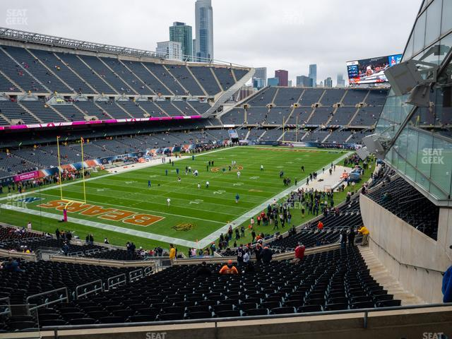Soldier Field Section 318 view