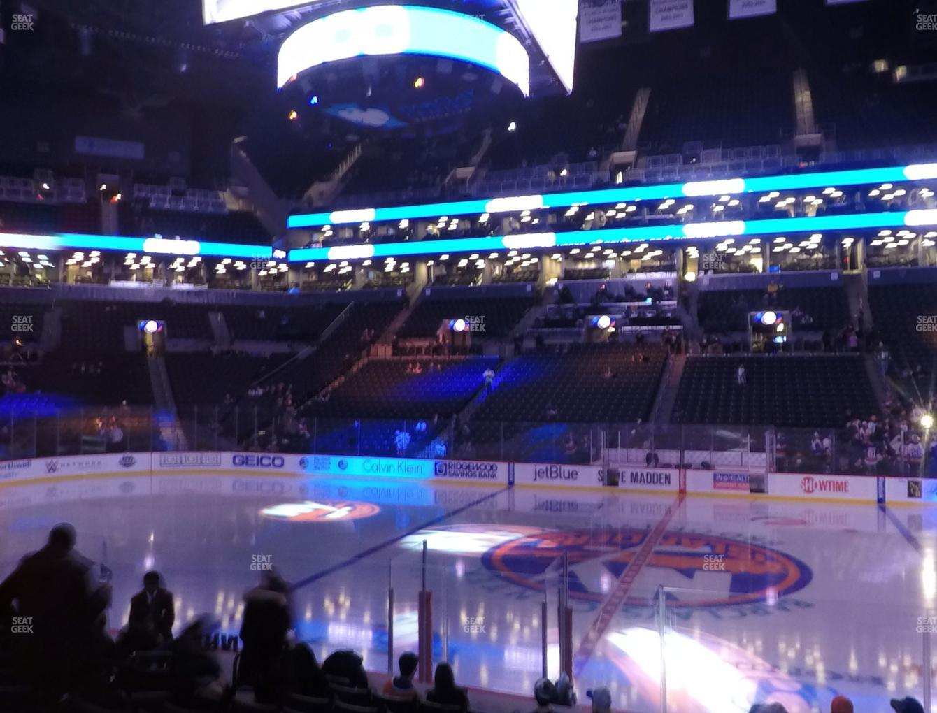 New York Islanders at Barclays Center Section 7 View