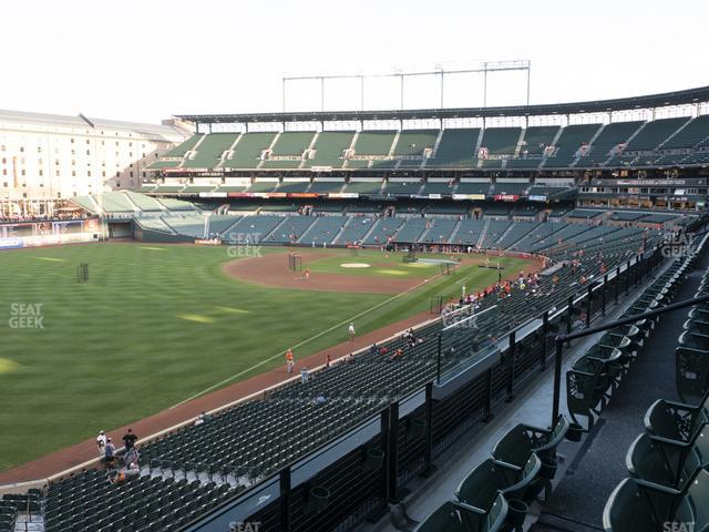 Oriole Park at Camden Yards Section 270 view
