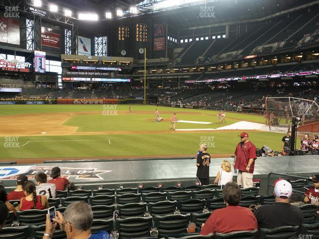 Chase Field Section O view