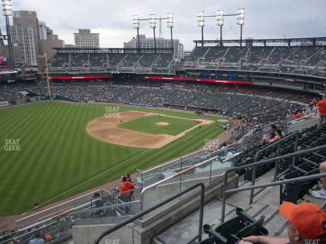 Comerica Park Section 341 view
