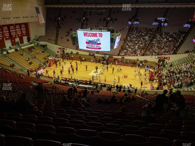 Assembly Hall - IN Section C view