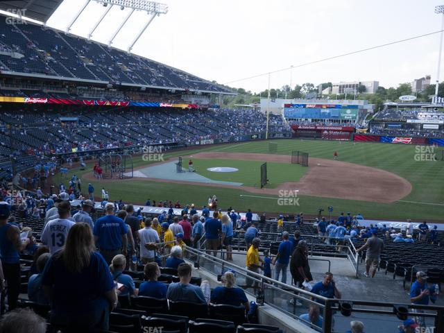 Kauffman Stadium Section 236 view