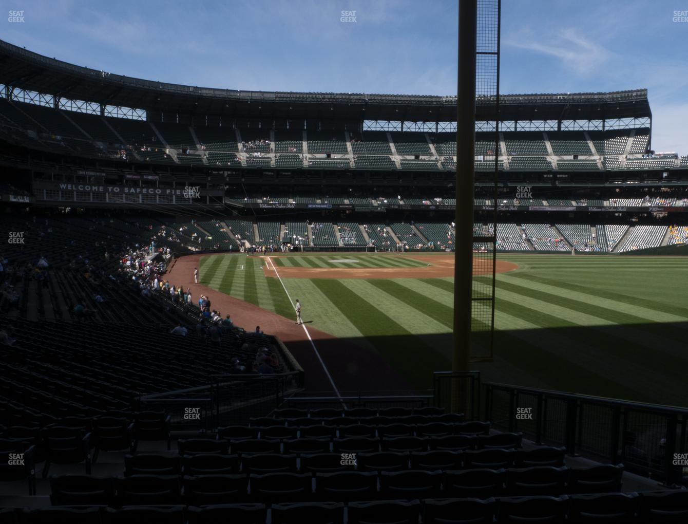 Seattle Mariners at T-Mobile Park Section 110 View