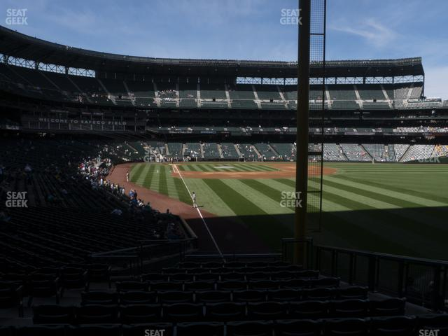 T-Mobile Park Section 110 view