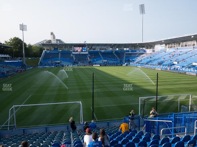 Saputo Stadium Section 133 view