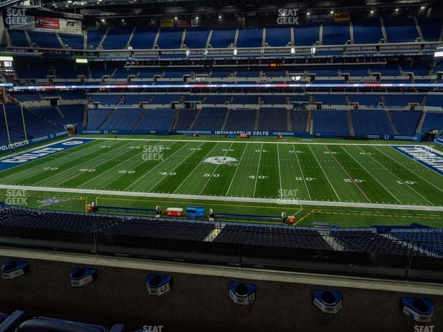 Lucas Oil Stadium Section 339 view