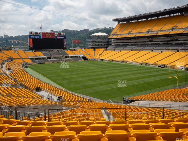 Heinz Field Section 218 view