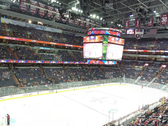 Capital One Arena Section 226 view