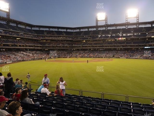 Citizens Bank Park Section 102 view