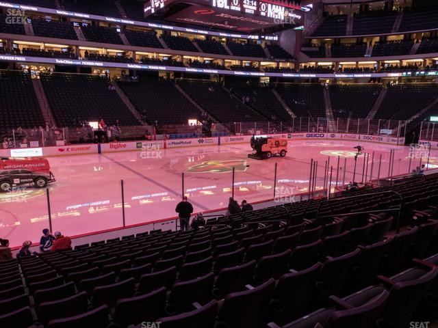 Xcel Energy Center Section 105 view