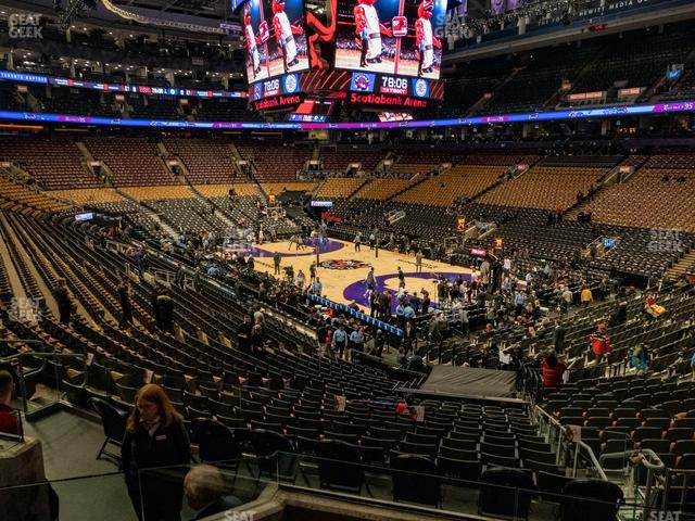 Scotiabank Arena Section 116 view