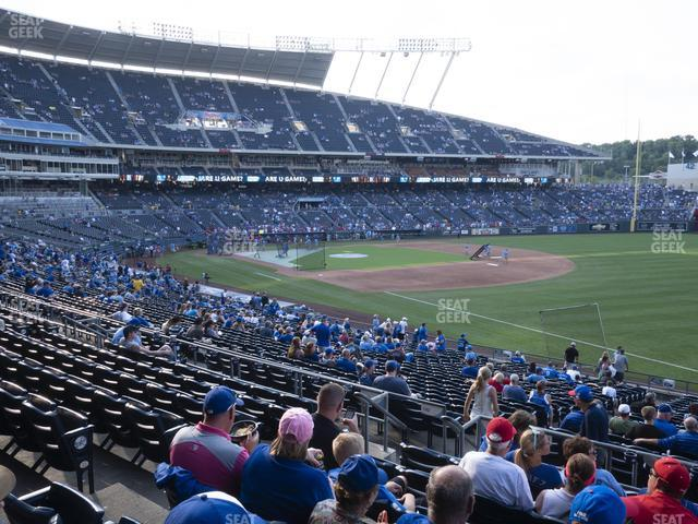 Kauffman Stadium Section 243 view