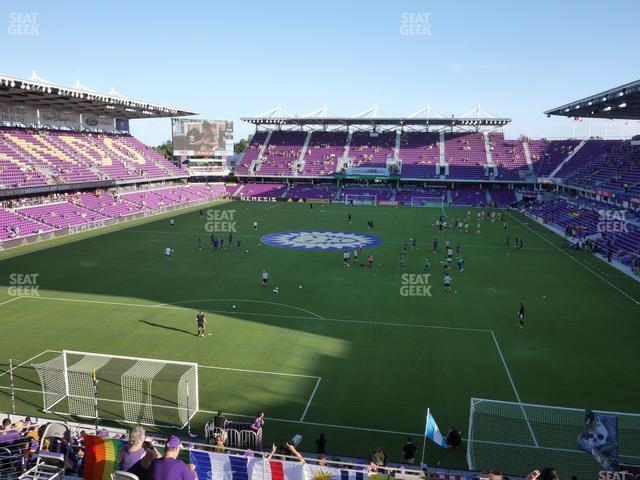 Exploria Stadium Safe Standing 23 view
