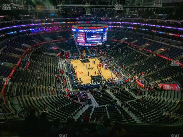 Staples Center Section 311 view