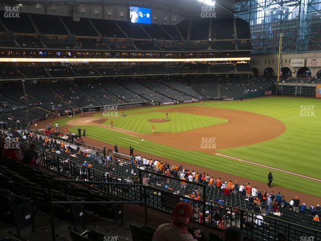 Minute Maid Park Section 230 view