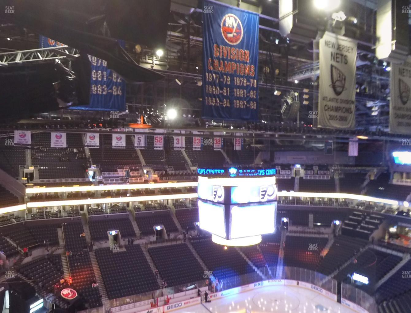 New York Islanders at Barclays Center Section 227 View