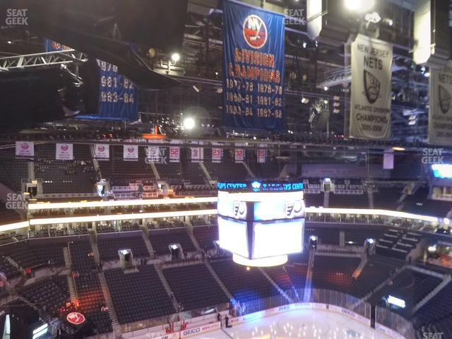 Barclays Center Section 227 view