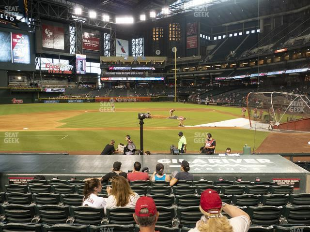 Chase Field Section N view