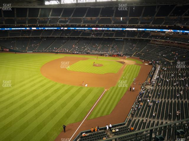Minute Maid Park Section 305 view