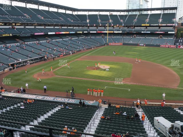 Oriole Park at Camden Yards Section 220 view