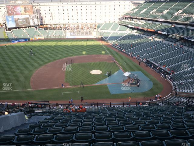 Oriole Park at Camden Yards Section 352 view