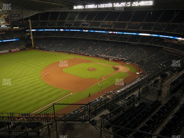 Minute Maid Park Section 408 view