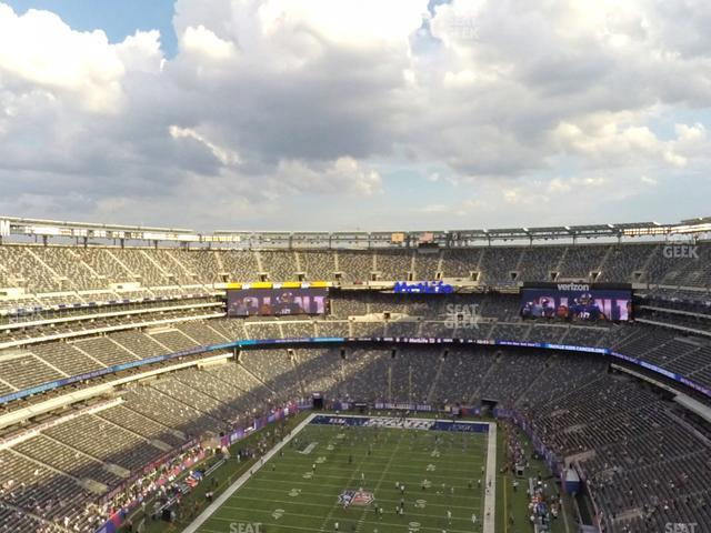 MetLife Stadium Section 349 view