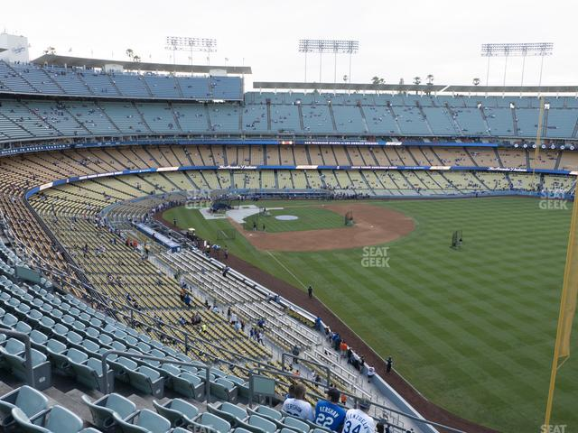 Dodger Stadium Reserve 52 view