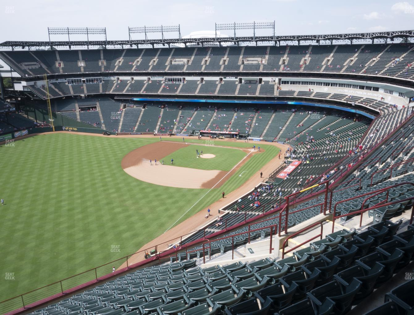 Concert at Globe Life Park Section 310 View