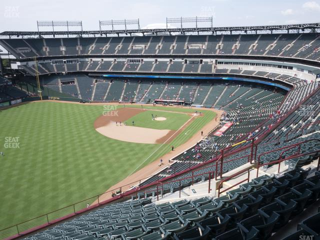 Globe Life Park Section 310 view