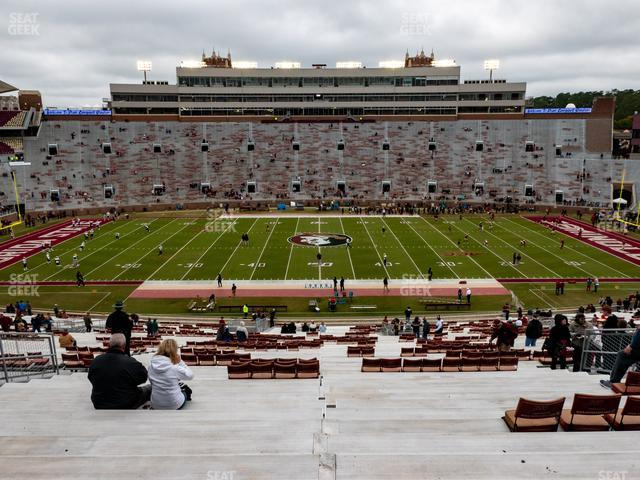 Doak Campbell Stadium Section 10 view