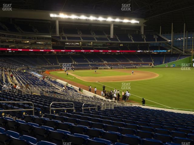 Marlins Park Section 3 view