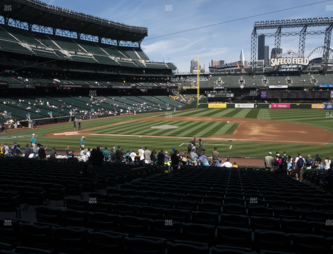 Seattle Mariners at T-Mobile Park Section 121 View