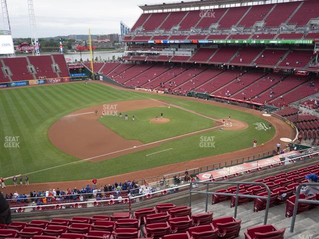 Great American Ball Park Section 415 view