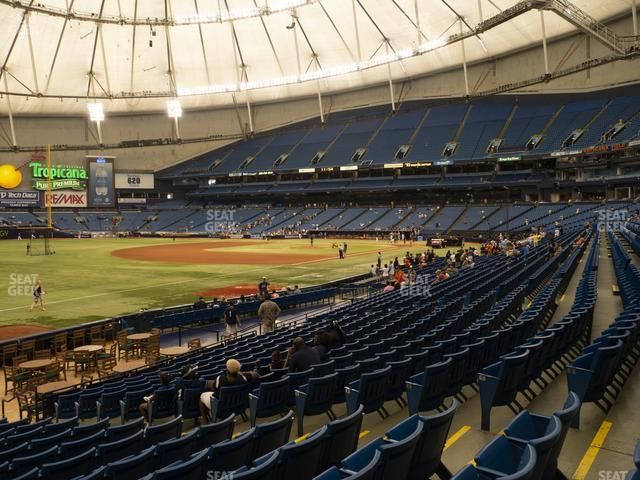 Tropicana Field Section 131 view