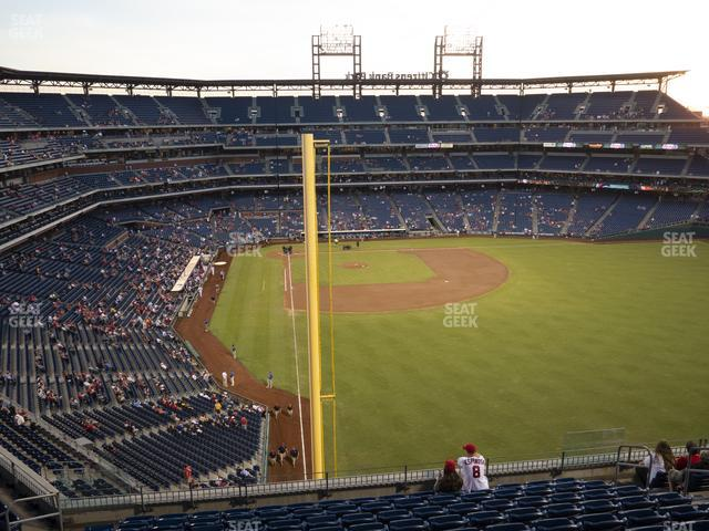 Citizens Bank Park Section 305 view